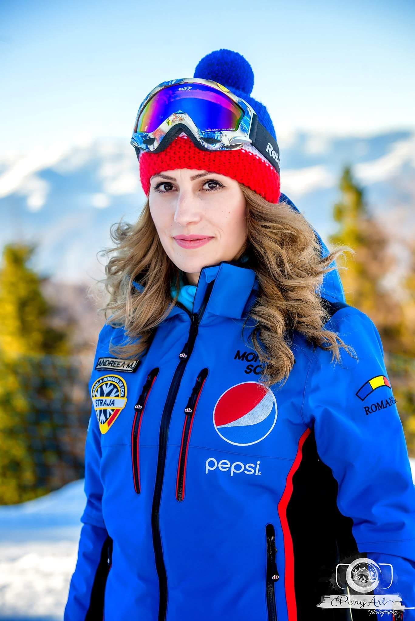 monitor de ski